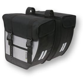 Basil Tour Double Pannier Bag 26l black/silver